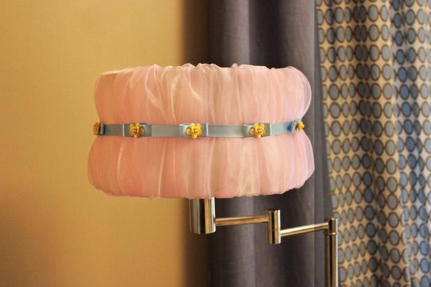 50 glamorous diy lampshade projects to decorate your home 3 pretty princess lampshade aloadofball Choice Image