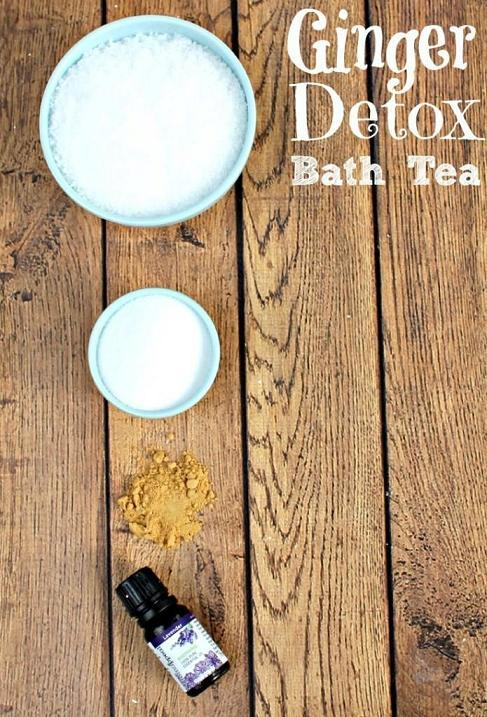 Detox Bath with Ginger