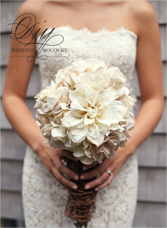 Hydrangea And Mum Bouquet