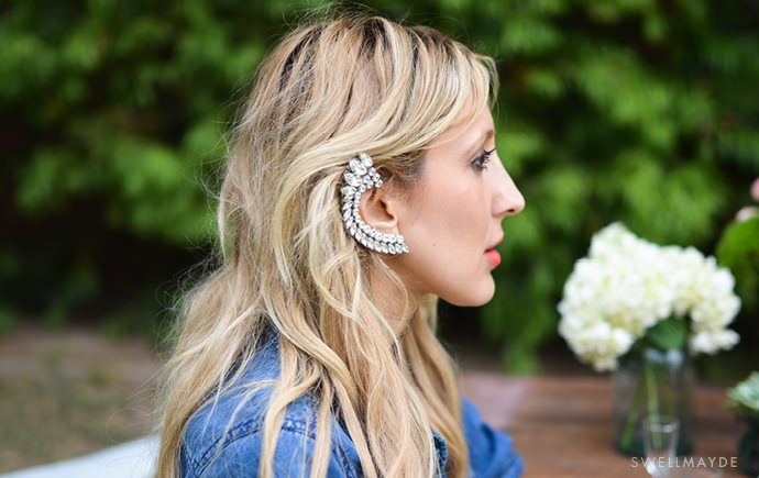 Embellished Ear Cuff