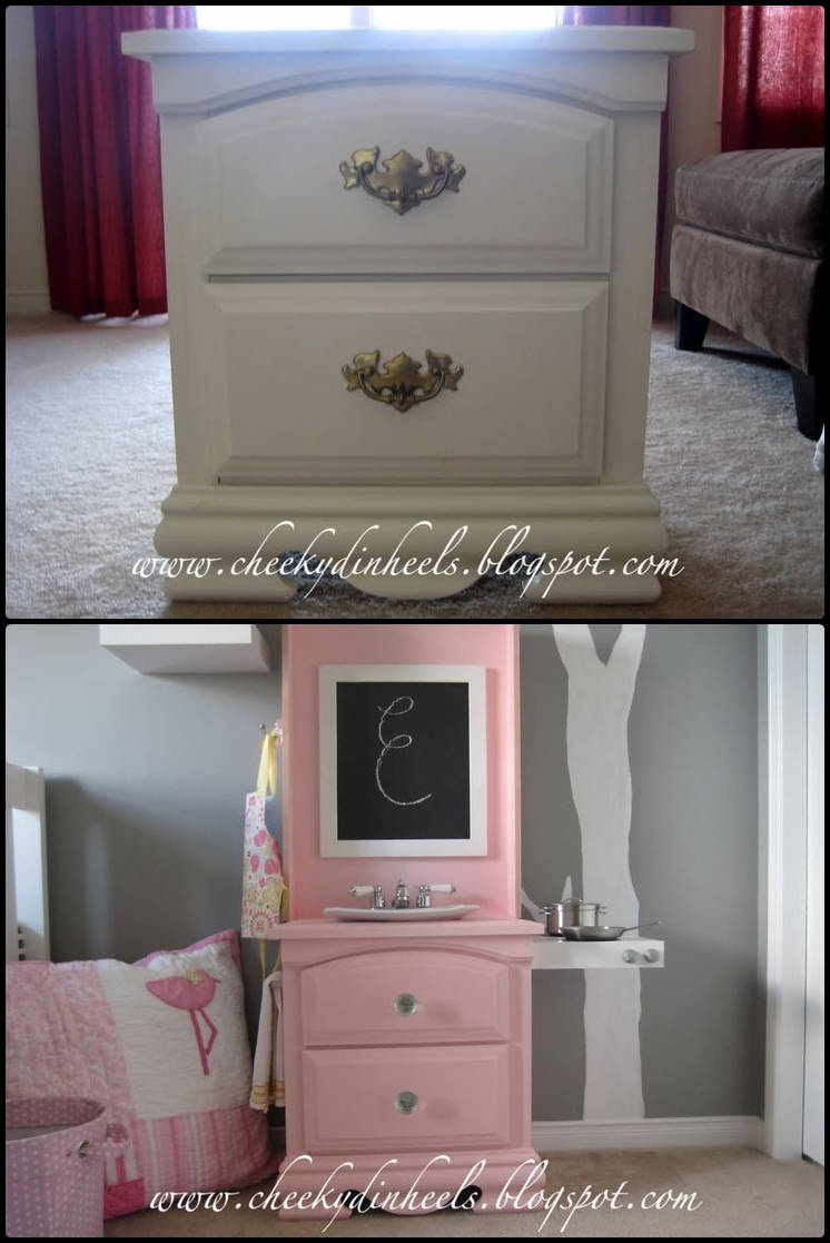 furniture repurpose. Small Dresser To Play Kitchen Furniture Repurpose Y