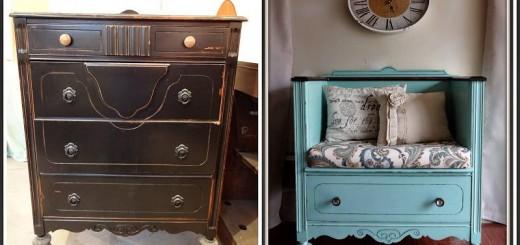repurposing old furniture ListInspiredcom