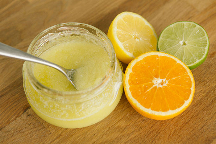 Organic Citrus Body Scrub