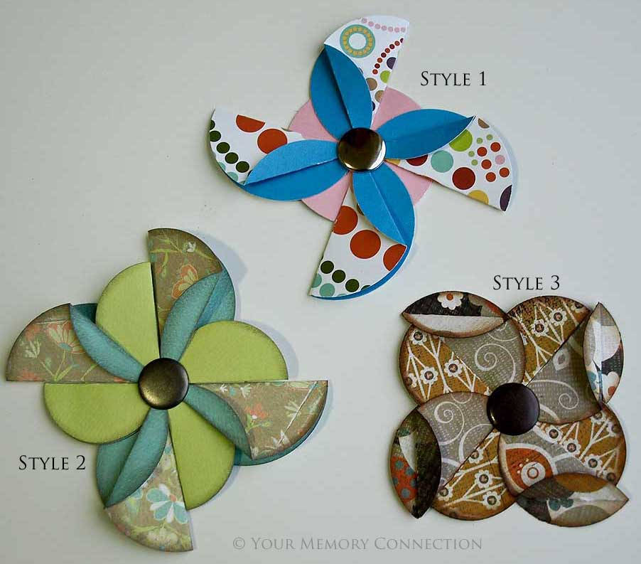 Circle Pinwheels