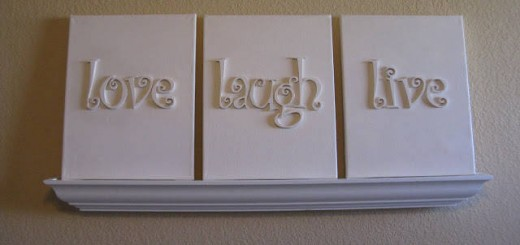 50 Genius DIY Project Ideas To Decorate Your Home With Letters And Words,  The Results Are Awesome