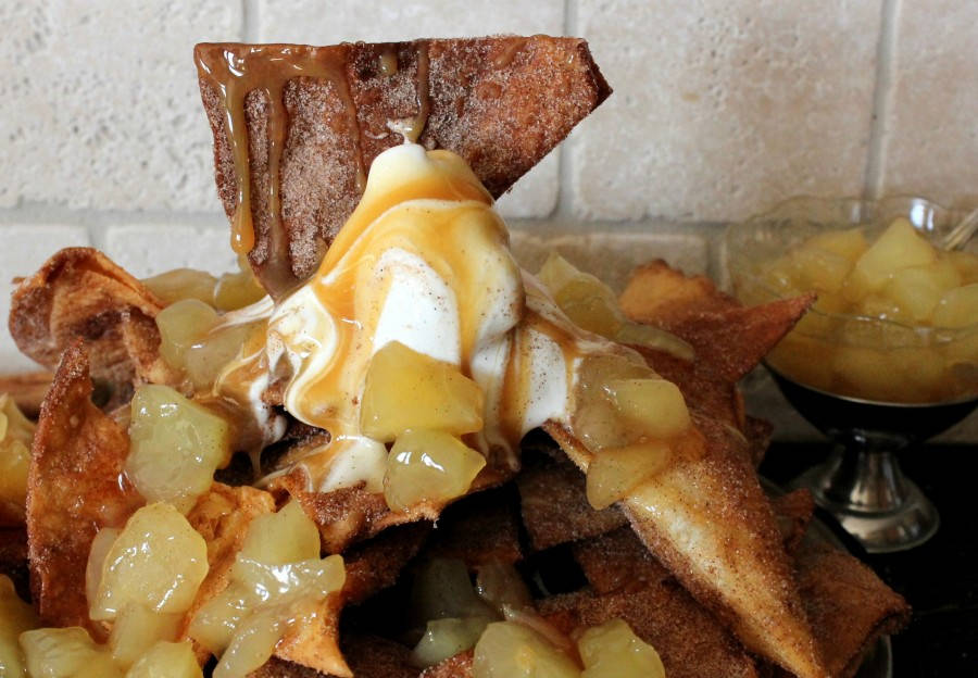 Apple Pie Nachos…A La Mode!