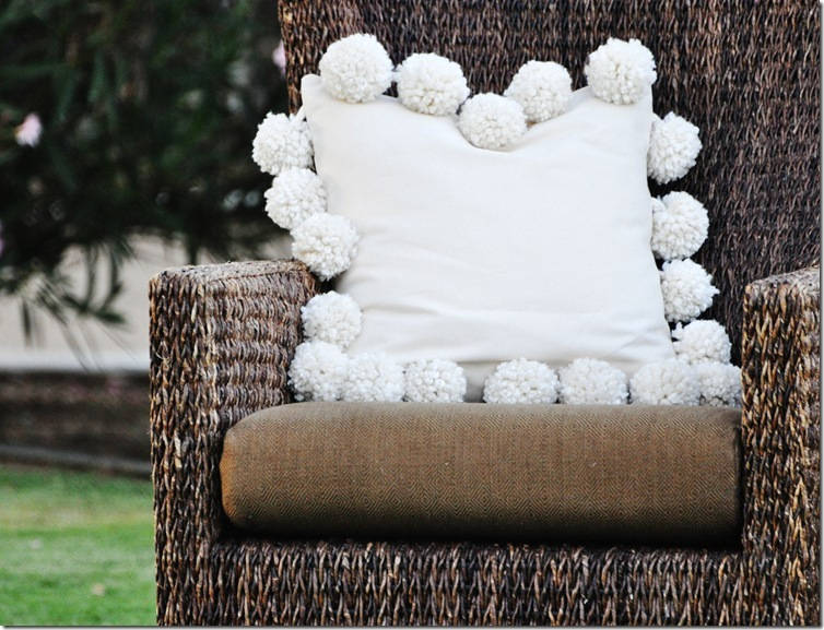 Mondo Pom Trim Pillow