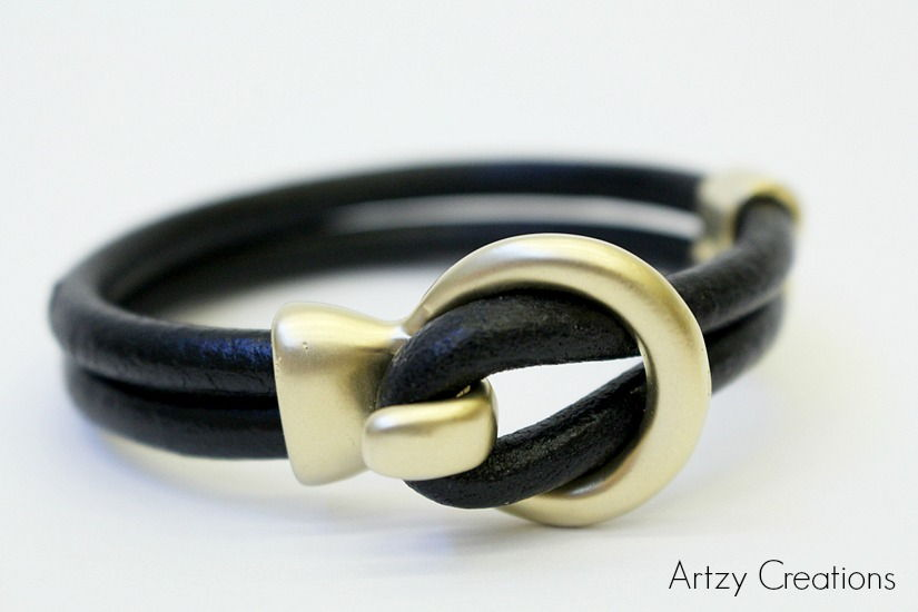 50 Creative Ways To Make Your Own Leather Bracelet Jewelry