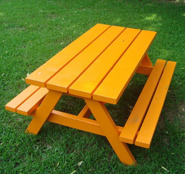 Kid's Picnic Table