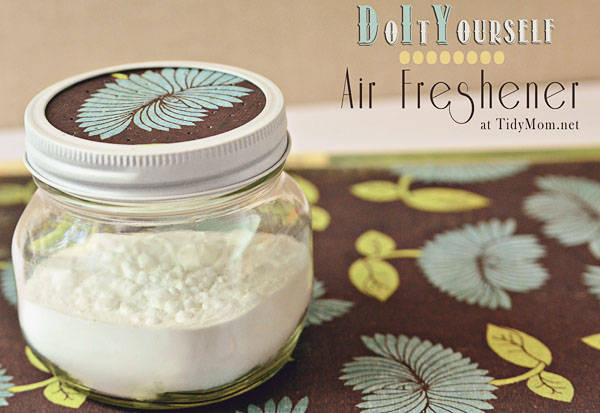 19 homemade air freshener and odor absorber