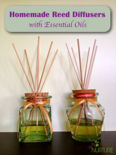 4 Essential Oil Reed Diffusers
