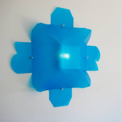 Wall Sconce from Plastic Container