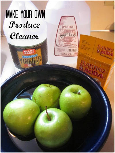 Homemade Produce Cleaner