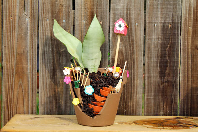 Fairy Garden Flower Pot