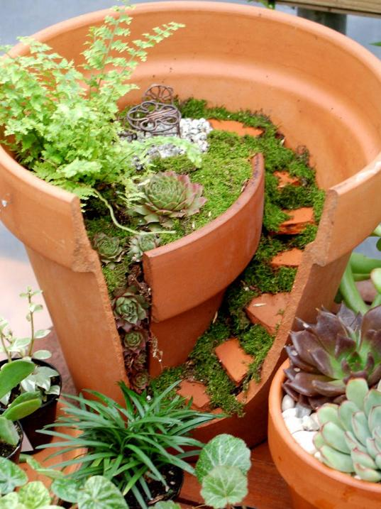 Fairy Garden Ideas Diy create a fun fairy garden with jeans clever new ideas 1 Miniature And Fairy Gardening