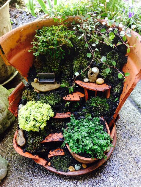 Fairy Garden Ideas Diy fairy garden collage 2 House For The Fairies