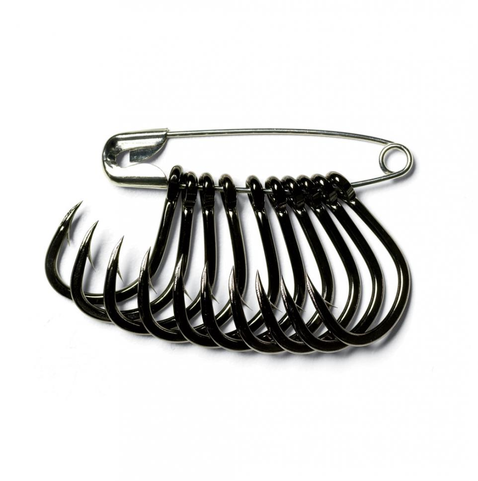 Use safety pins to keep the fishing hooks in your tackle box organized