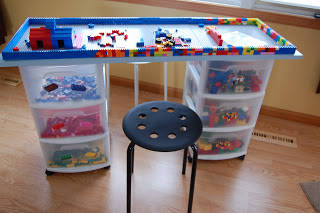 Lego Storage and Play Table