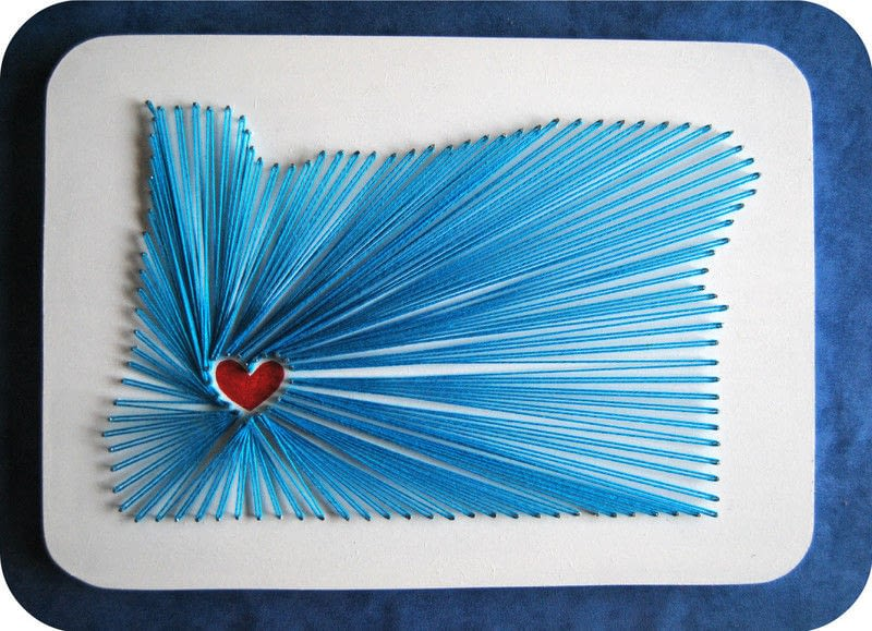 50 Creative DIY String Art Project Ideas – Page 2 – ListInspired.com