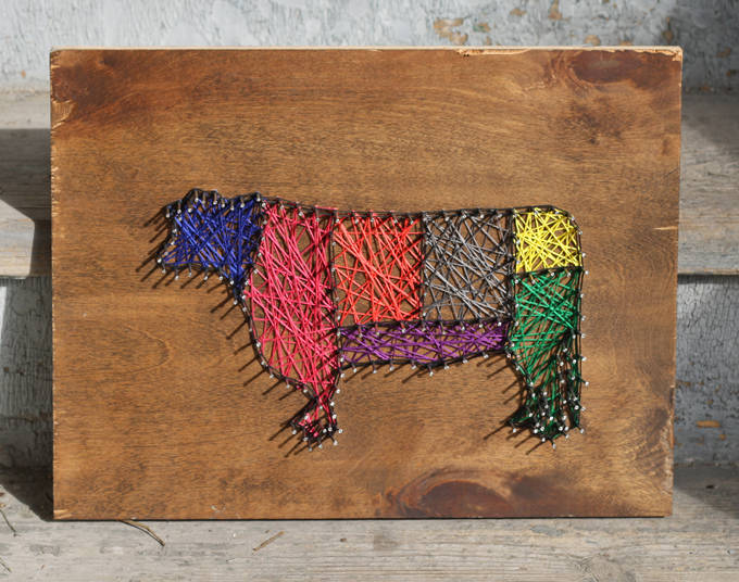 string art projects with instructions
