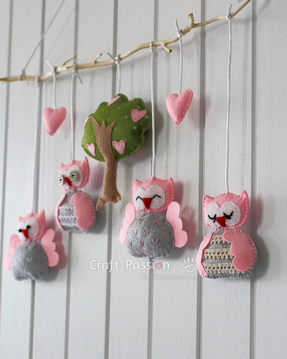 50 Free And Beautiful Diy Baby Mobile Tutorials