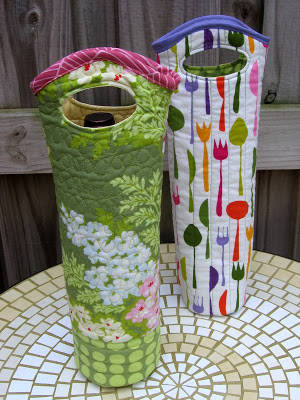 Quilted Wine Tote