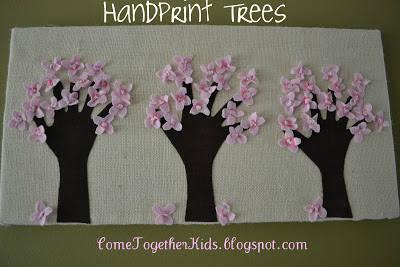 30 Creative Handprint Art Diy Project Gift Ideas