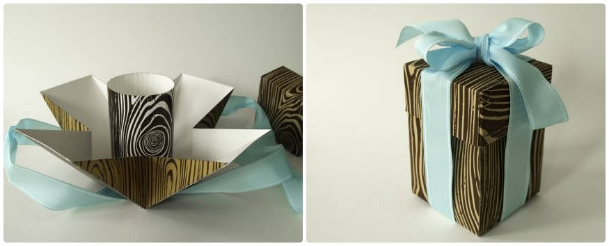 50 creative diy gift box project ideas listinspired 2 beautiful faux bois negle Choice Image