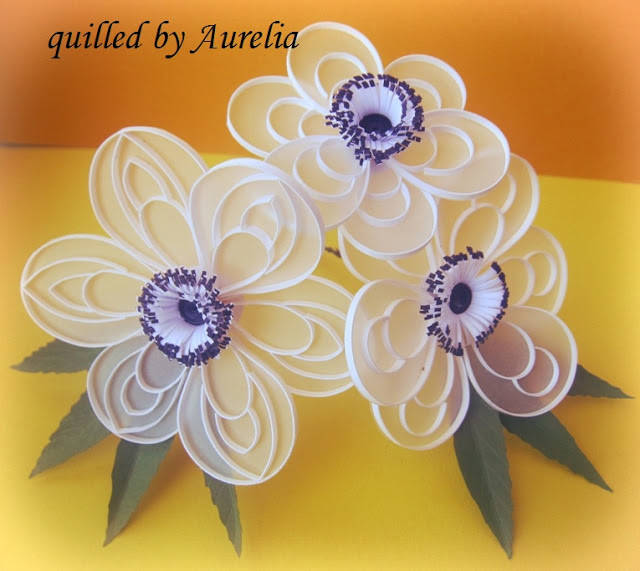Anemone Flower Quilling Tutorial Via Imagination Is The Beginning Of Creation