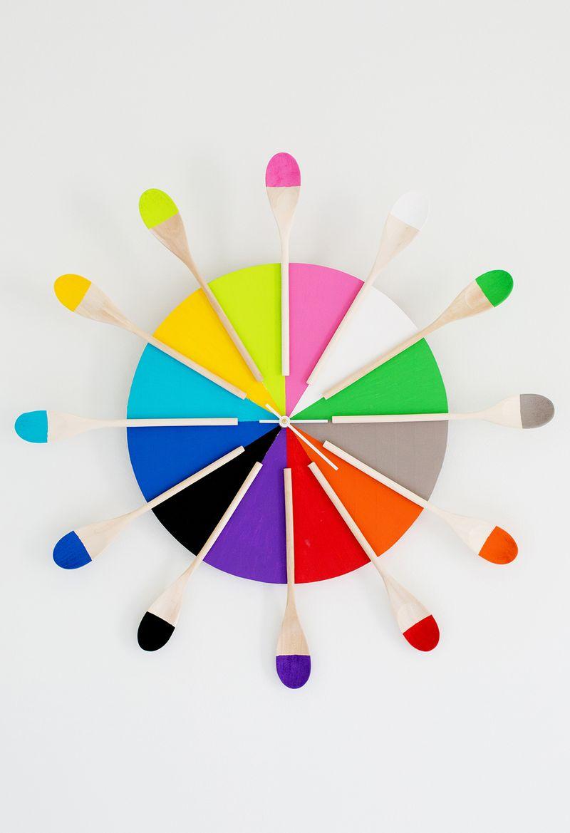 Diy Kitchen Clock Ideas
