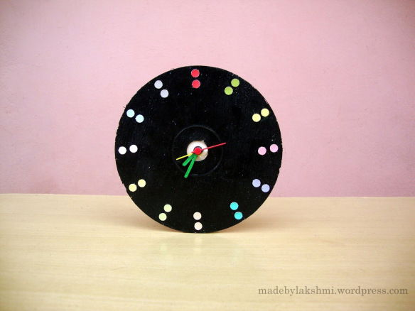 41 Old CD Wall Clock