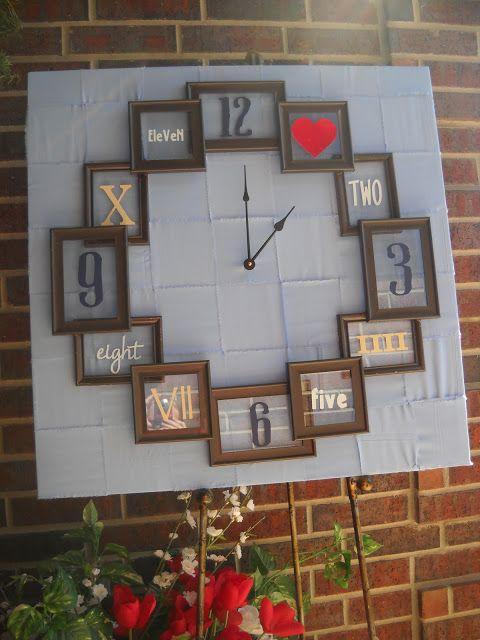 Wonderful 2 Old Frames Wall Clock