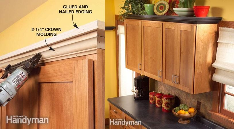 Add Shelves Above Kitchen Cabinets