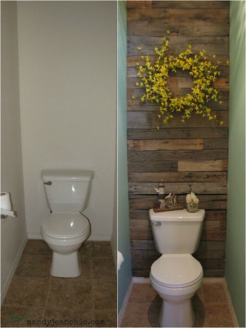 Toilet Room Makeover