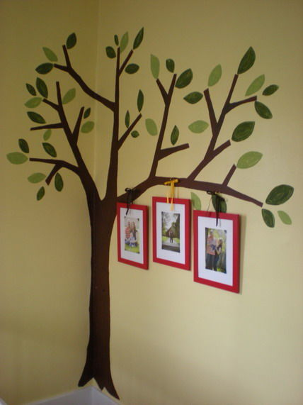 4 Tree Garden Wall Murals