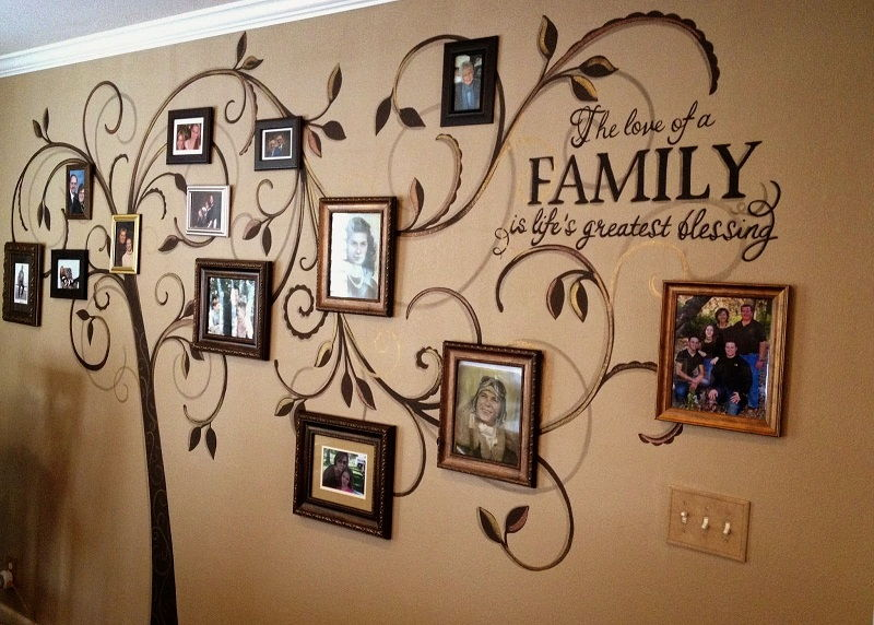 7 Creative Family Tree Mural