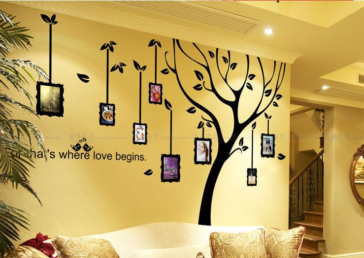 Charming Wall Frames Decorating Ideas Images - Wall Art Design ...