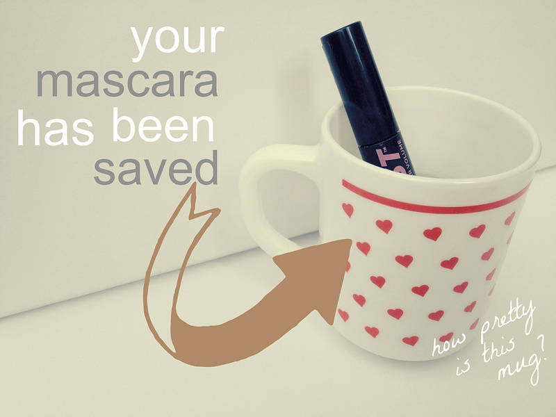 Rescue a Dried Out Mascara