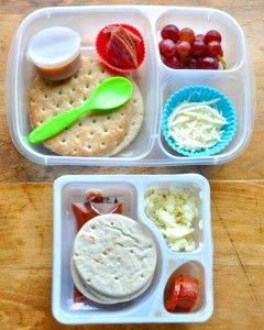 Make your own healthier Lunchables