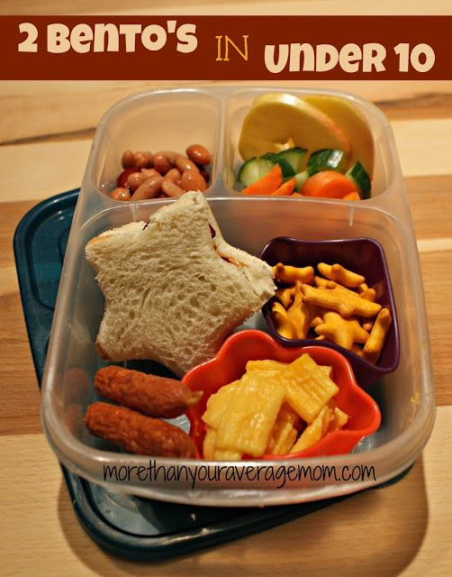 10 Minute Bento Lunch