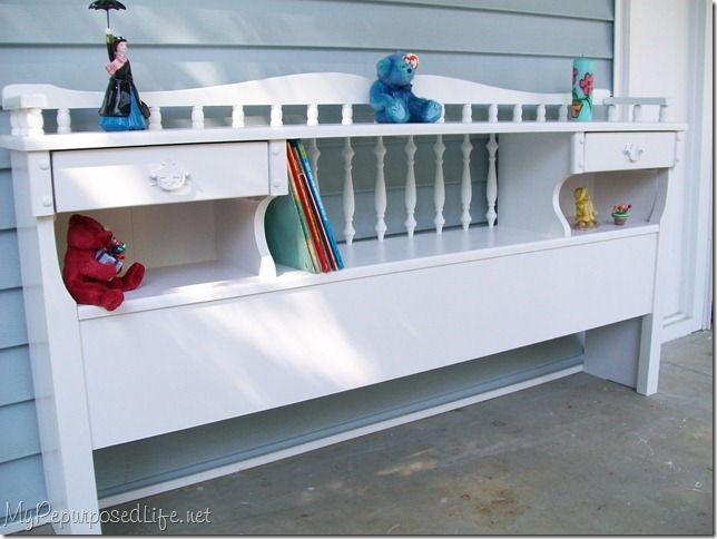 30 Bookcase Headboard Repurposed