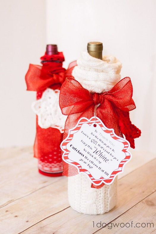 Wrap Wine Bottles