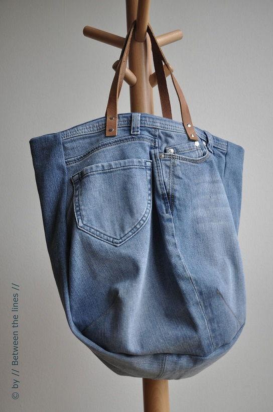 50 Genius Diy Craft Tutorials And Ideas Made From Denim Jeans