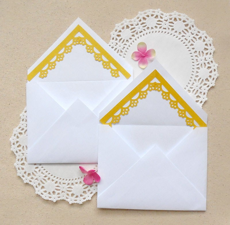 Envelope Decoration with Paper Punches