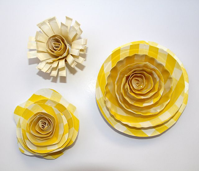 23 Paper Plate Flowers