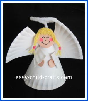 4 Paper Plate Angel  sc 1 st  ListInspired.com & 50 Simple Paper Plate Crafts for Every Event u2013 ListInspired.com