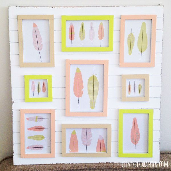 50 Creative DIY Picture Frame Project Ideas – Page 4 – ListInspired.com