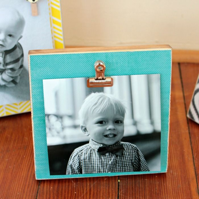 Scrap Wood Photo Block