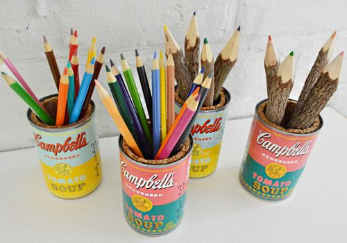 Sweet Pop Art Pencil Caddies