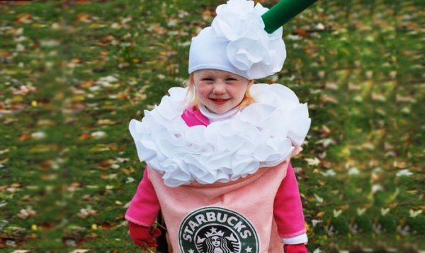 Starbucks Strawberries and Cream Frappuccino Halloween